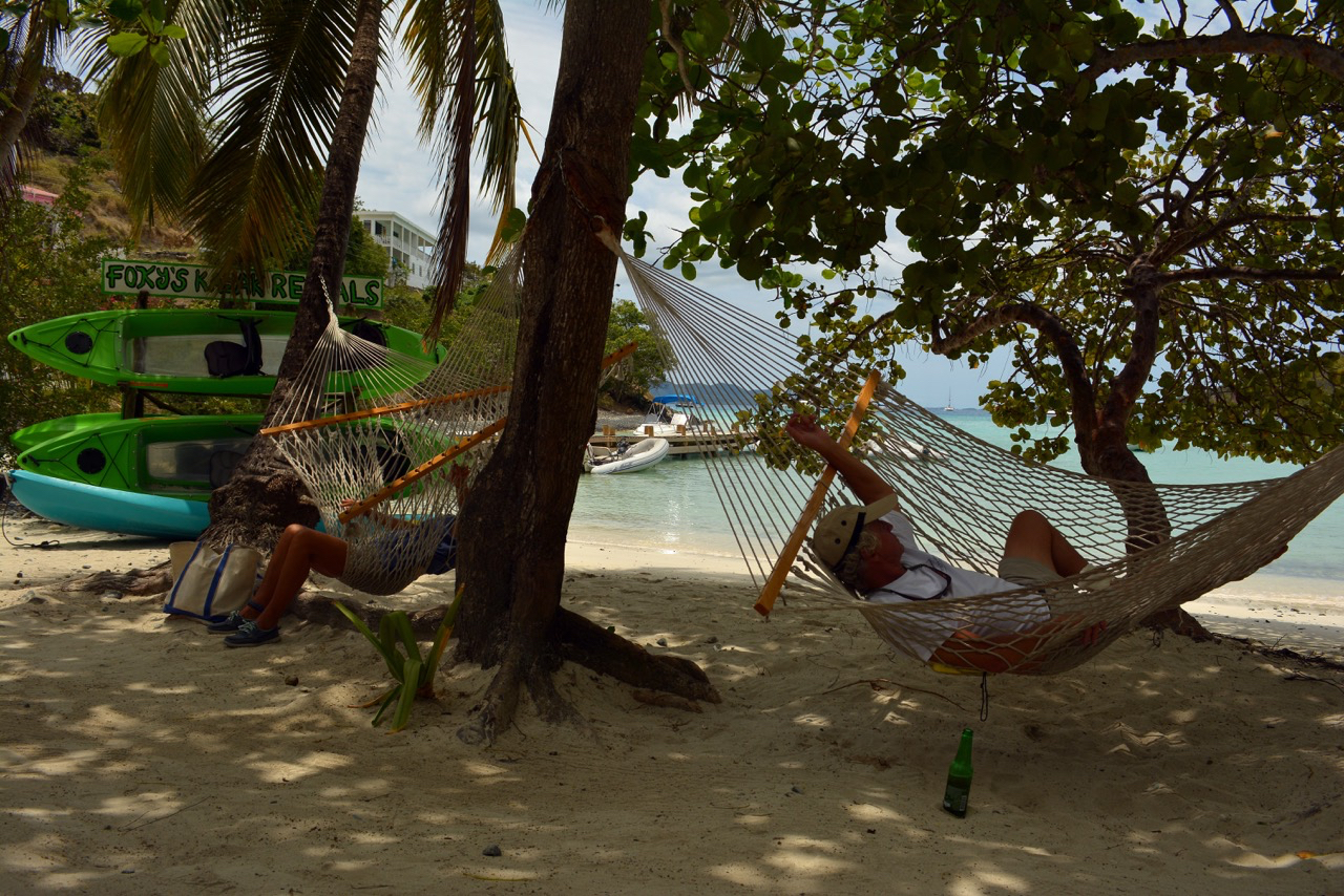 Hammocks in Great Harbor