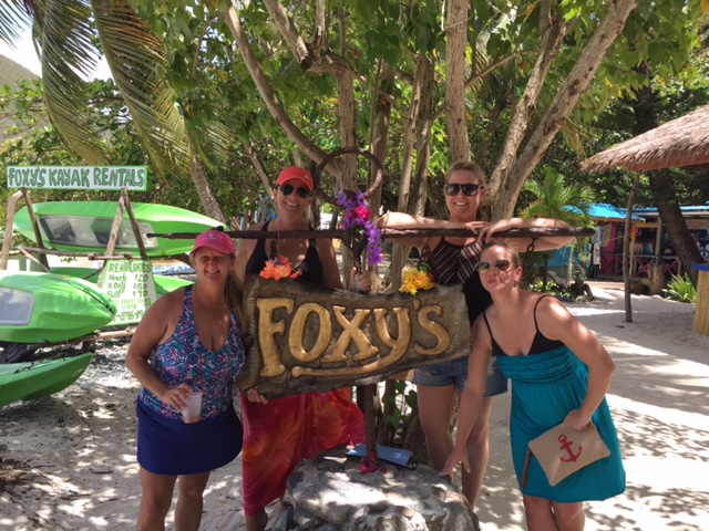 Charter guests at Foxy's