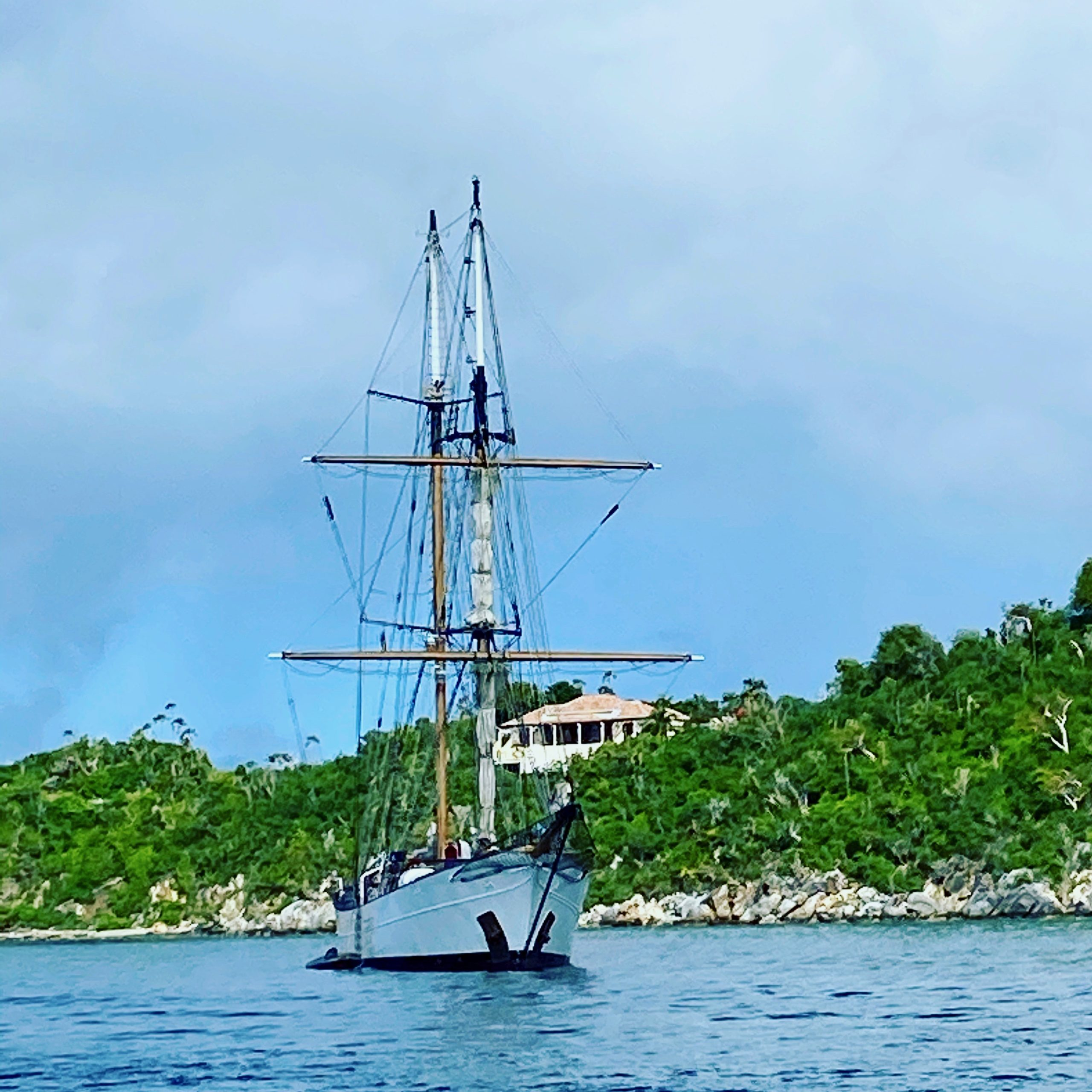 Tall Ship at West End, Tortola