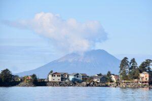 The volcano on Kruzof